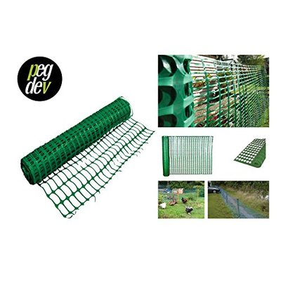 PLASTIC BARRIER FENCING SAFETY MESH FENCE NETTING NET